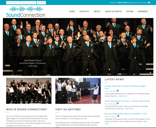 Home page style 1