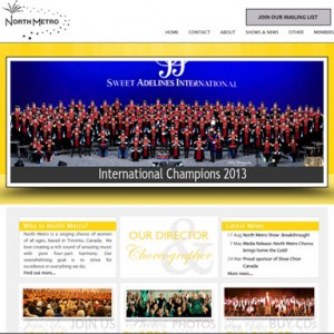 North Metro Chorus HarmonySite